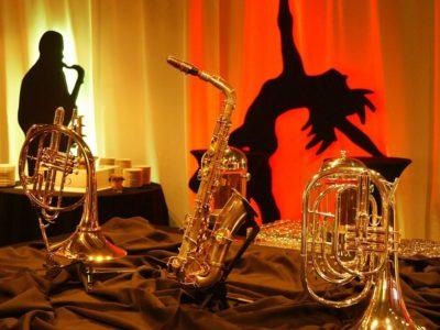Jazz dekoracje sceniczne